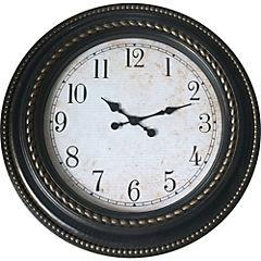 Reloj mural 60 cm café
