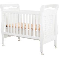 Cuna cama 124x76x157 cm blanco