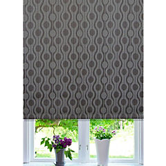 Cortina enrollable Black Out Ondas 80x165 cm