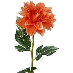 Dahlia 67 cm naranja