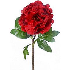 Peonia 69 cm rojo