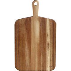 Tabla para picar madera 24x46 cm Café