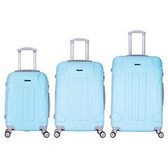 Set de maletas de viaje turquesa