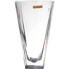 Florero de cristal Art deco 28 cm