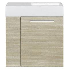 Mueble vanitorio 63x60x26 cm