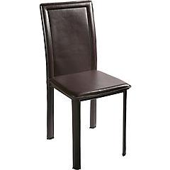 Set de 2 sillas Royal poliuretano 43X53x94 cm