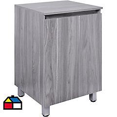 Mueble para vanitorio 50x46x80 cm gris