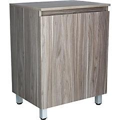 Mueble vanitorio 60x80x46 cm Gris