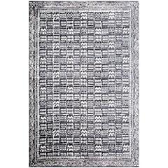 Alfombra Etnic 140x200 cm gris
