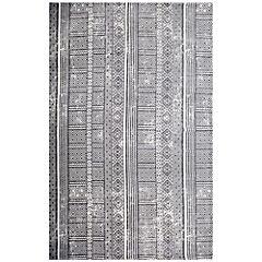 Alfombra Etnic 160x230 cm gris