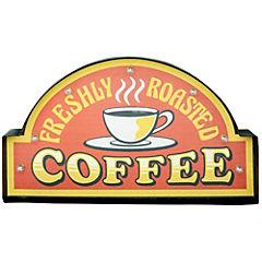 Letrero Led 29x50 cm Coffee