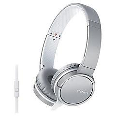 Audífonos casco plegable con micrófono blanco MDR-ZX660AP W