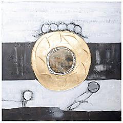 Oleo abstracto 80x80 cm OP001