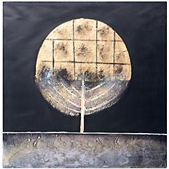 Oleo abstracto 80x80 cm OP002