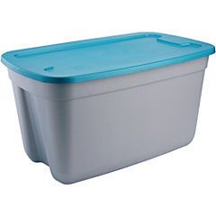 Caja organizadora 120 litros 81,3x50x43,3 cm gris
