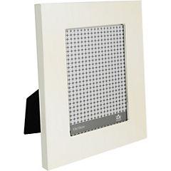 Marco de foto 13x18 cm silver liso ancho