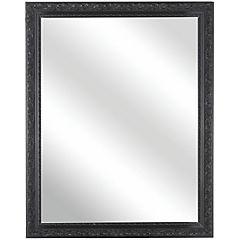 Espejo rectangular 150x120 cm negro
