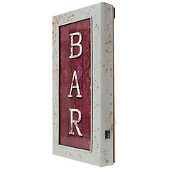 Cuadro Bar con luz LED 30x15 cm