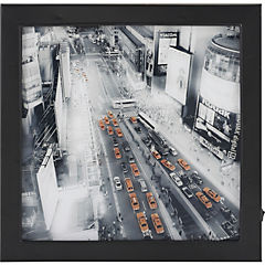 Cuadro Calle con luz LED 30x30 cm