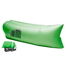 Reposera inflable verde