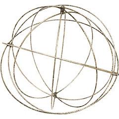 Esfera decorativa 48 cm metal