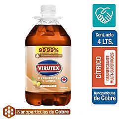 Limpiapisos desinfectante líquido cítrico 4 litros bidón