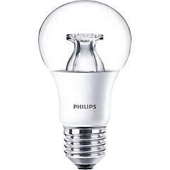 Ampolleta led Bulb Clear 9-60W dimeable luz cálida