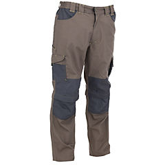 Pantalon Dakota desmontable café S