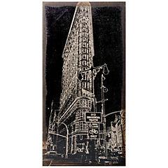 Cuadro Edificio New York 100x50 cm