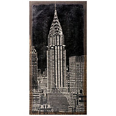 Cuadro Torre Chrysler 100x50 cm
