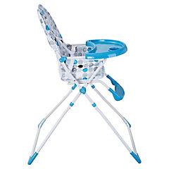 Silla de comer para bebé 101x60x73 cm azul