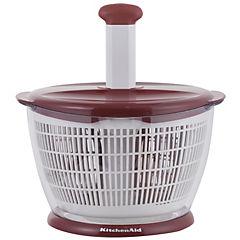 Colador centrifugo rojo