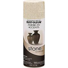 Pintura texturizada en spray piedra 340 gr Blanco