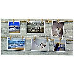 Marco de foto con pinzas 30x60 cm