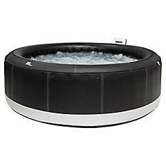 Spa inflable 180x70 cm 700 litros negro