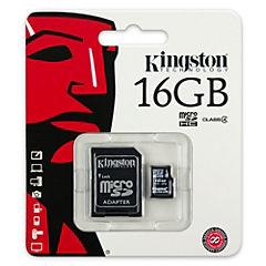 Micro SD 16 GB con adaptador CL4