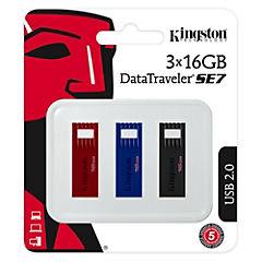 Kit 3 pendrives 16 GB DTSE7