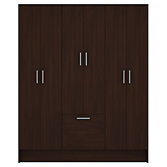 Closet 6 puertas 1 zapatera Lyon 173x38x141 cm