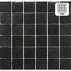 Malla vidrio Black 30X30 cm