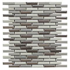 Malla mosaico porcelanato 30x30 cm