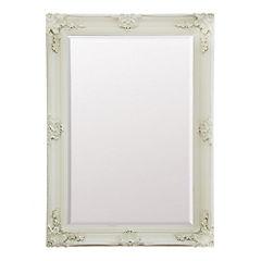 Espejo 79x109 cm crema