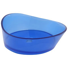 Lavamanos resina Sky blue oval
