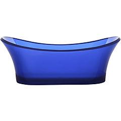 Tina resina sky blue 175x75x63 cm