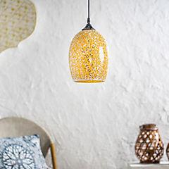 Lámpara de colgar Halima E27 1 luz