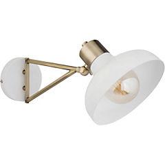 Aplique Edward E27 1 luz  blanco