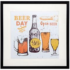 Cuadro enmarcado 50x50 cm Beerday