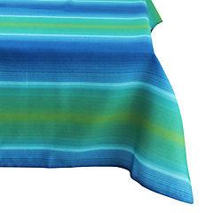 Mantel rectangular exterior 140x240 cm azul