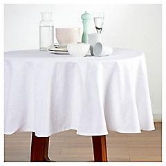 Mantel 180x240 cm algodón blanco
