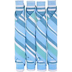 Juego de individuales + servilletas 8 piezas algodón azul