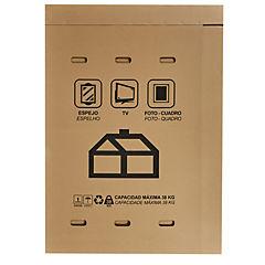Caja cartón corrugado para TV 152,4x196cm